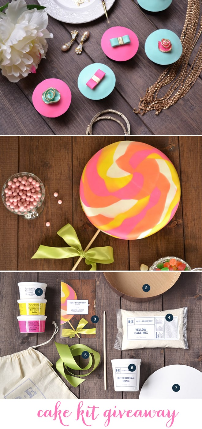 Amazing Cake Kits to create gorgeous cupcakes + cakes! Giveaway!