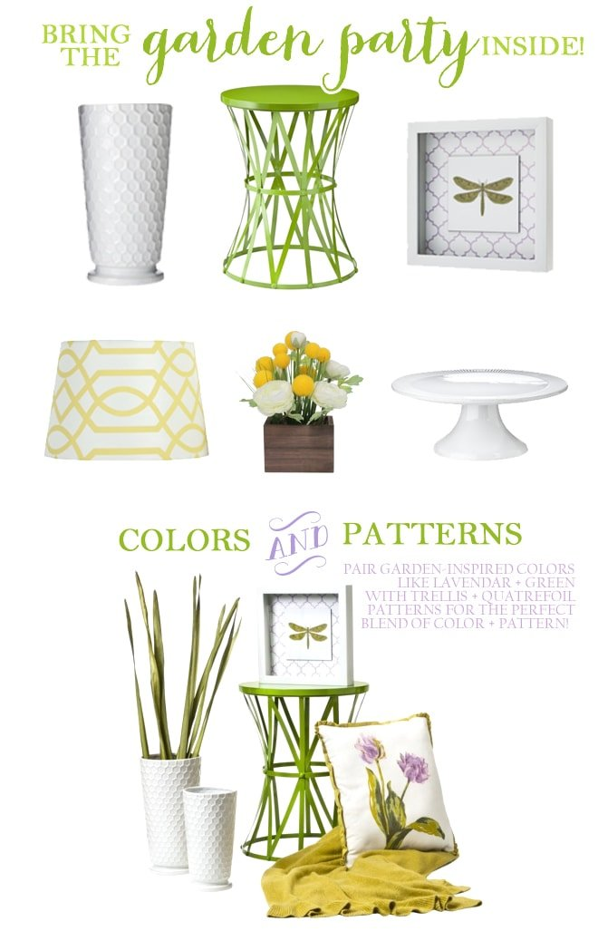 Bring the Garden Party Inside with Target Home Decor!