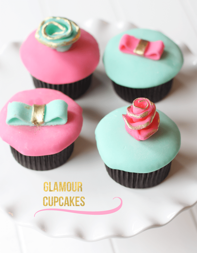 Glamour Cupcakes from Brys + Edgewood!