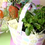 Fill an Easter Basket with fresh herbs!