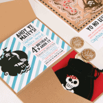 {Part 1of 2} Pirate Birthday Box Invitations!