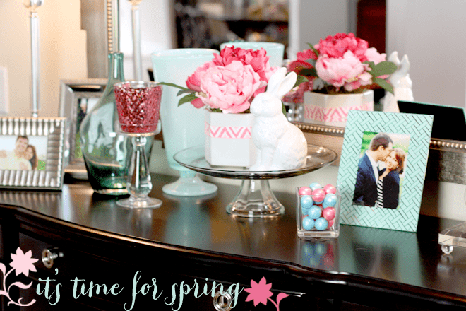 Give your home entryway a spring refresher with Target! #TargetStyle