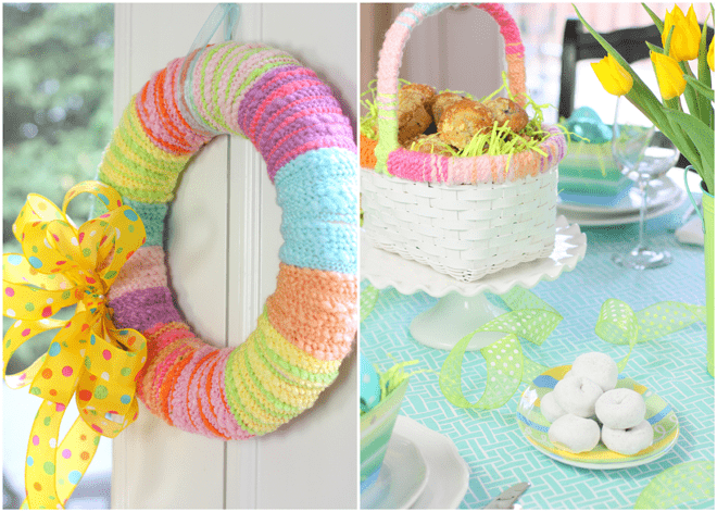 Easter Wreath + Sunday Brunch!