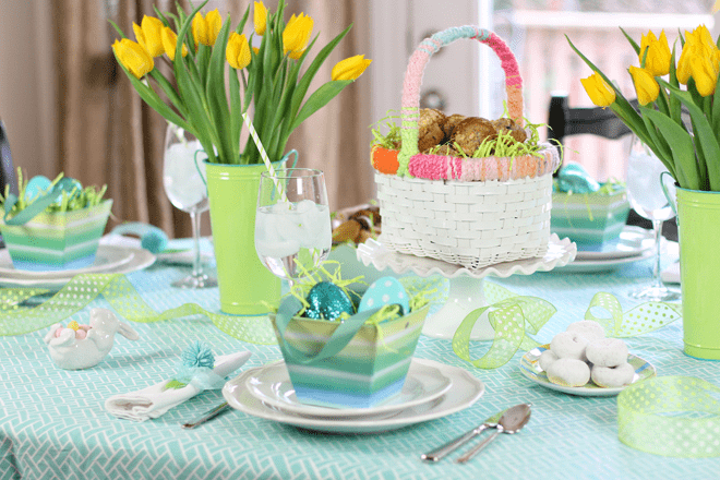 Easter Sunday Brunch Tablescape!