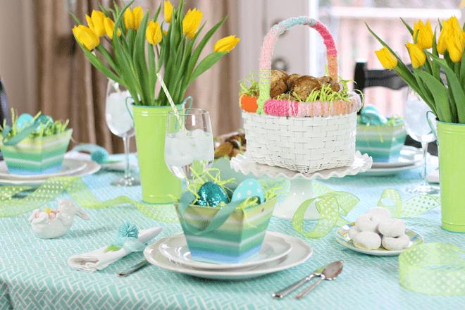 Easter Sunday Brunch Tablescape!