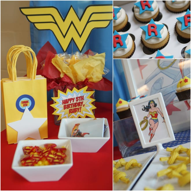 Wonder Woman Birthday Party!