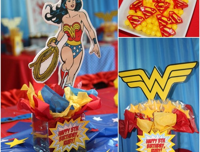 "Awesome ""Wonder Woman"" Birthday Party!"
