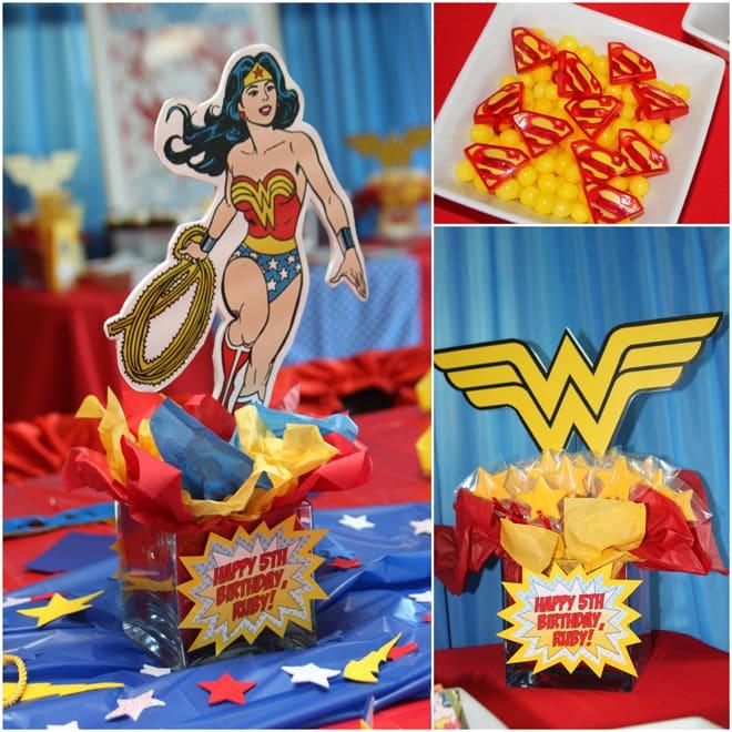 Super Wonder Woman Birthday Party!