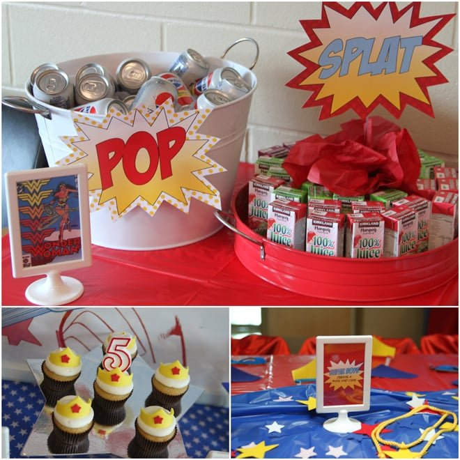 Wonder Woman Birthday Party!
