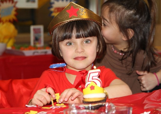 Wonder Woman Birthday Girl