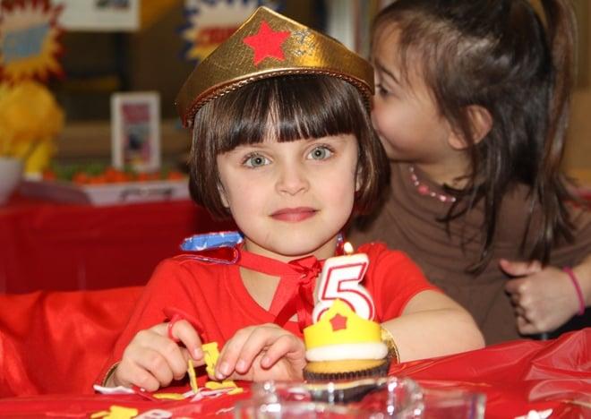 Wonder Woman Birthday Girl