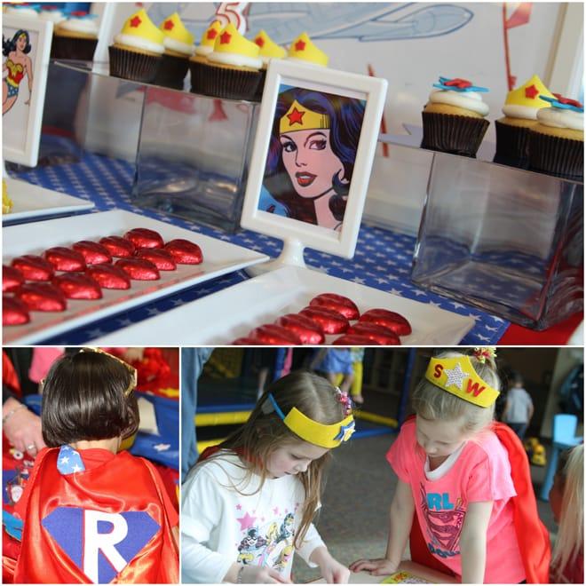 Wonder Woman Birthday Party Decorations