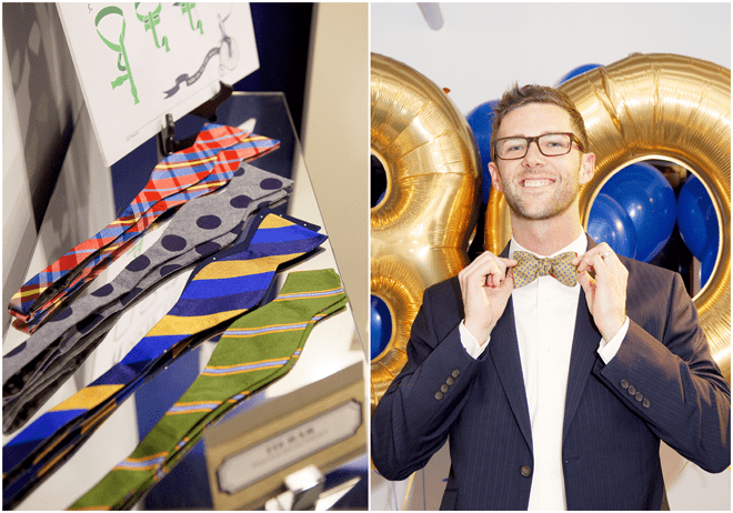 Dapper Gentleman Bow Tie Party #birthday #party on pizzazzerie.com