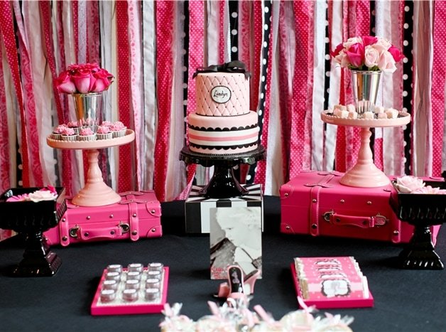 Barbie Birthday Party on pizzazzerie.com #barbie #party #birthday
