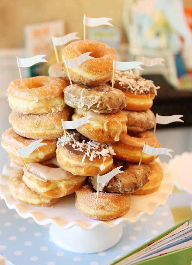 Donut Cake for Baby Shower