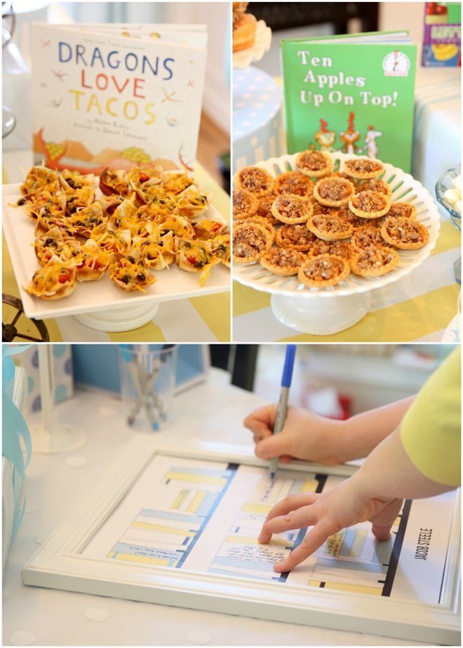 Childrens Book Themed Baby Boy Shower Pizzazzerie