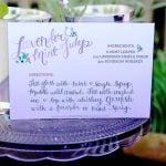 Lavender Mint Juleps + Derby Party Ideas!