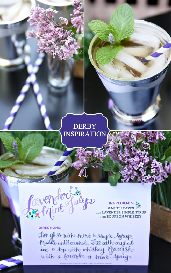 Lavender Kentucky Derby Party Inspiration!