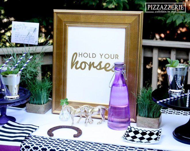 """""""Hold Your Horses"""" Derby Party Ideas"""