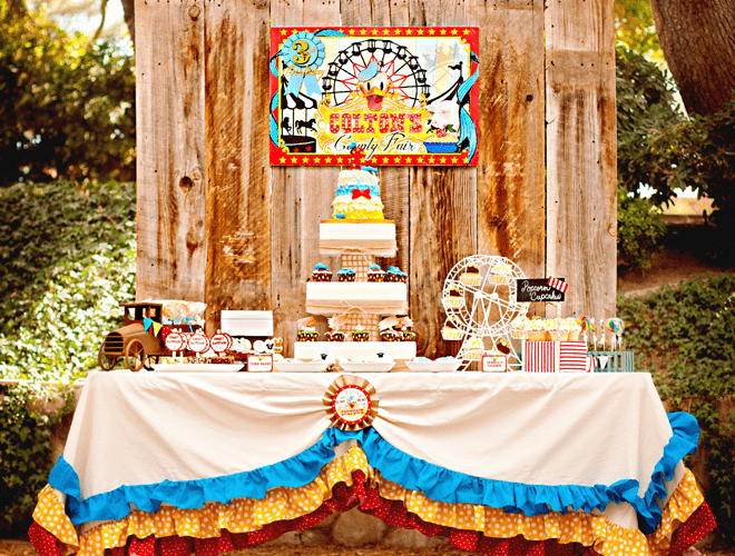 Vintage Donald Duck County Fair Birthday Party!