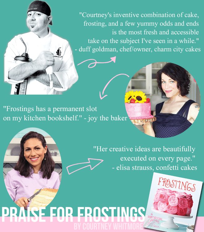 Praise for Frostings by Courtney Whitmore
