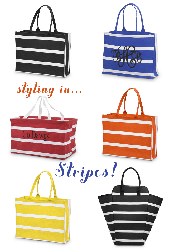 Styling in Stripes from Swoozies on pizzazzerie.com