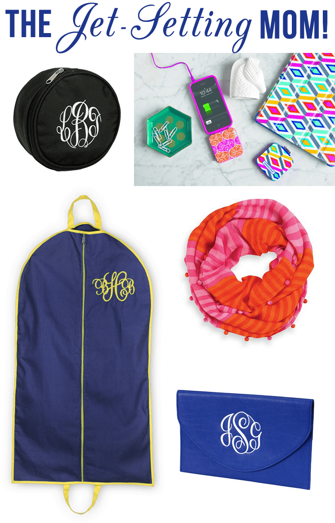 Mother's Day gifts for the Jet Setting Mom!