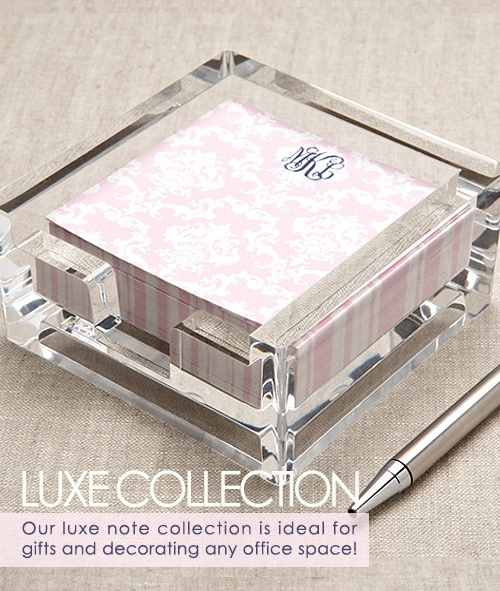 Gorgeous Luxe Collection Paper Goods from Milo paper