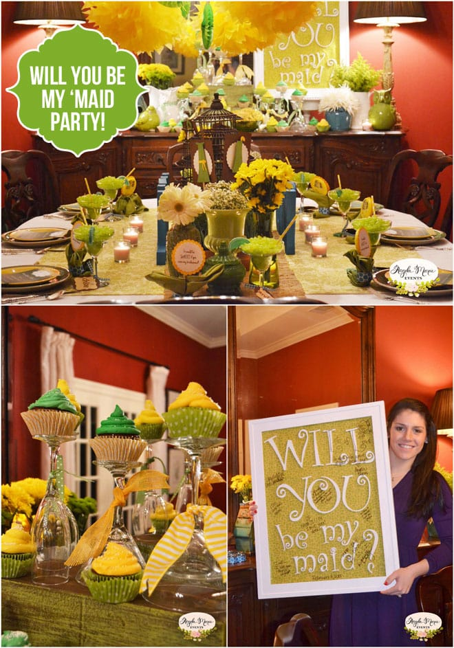 """Will you be my Bridesmaid"" Dinner Party!"