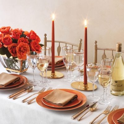 Warm + Festive Tablescape