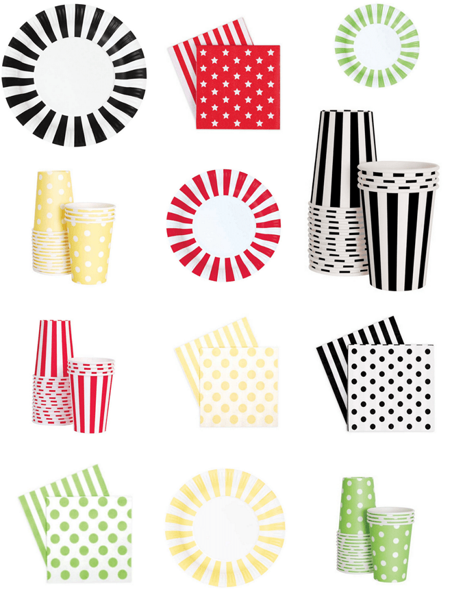 cute party supplies from swoozies