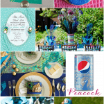 Host a Sassy Peacock Party - Ideas on Pizzazzerie.com #peacock #party