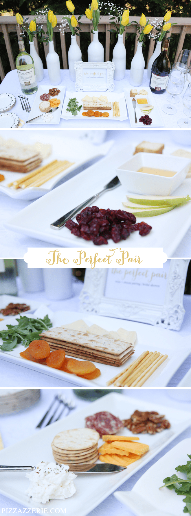"Bridal Shower - Wine + Cheese Pairing for ""The Perfect Pair"""