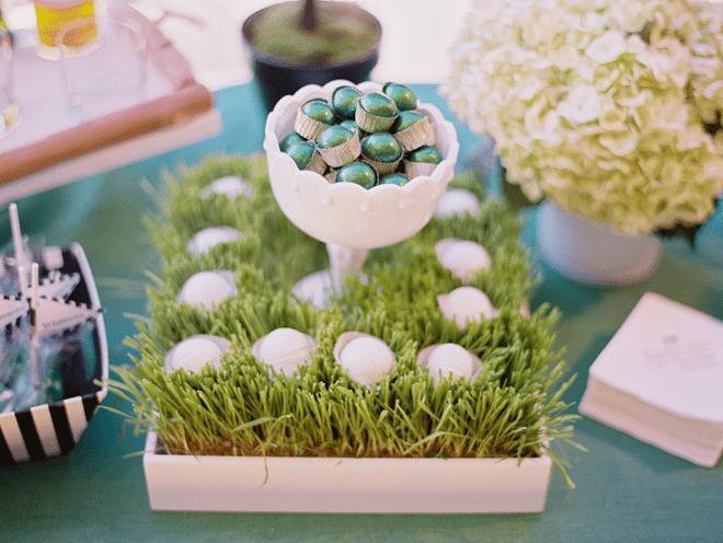 Golf Bar Wedding Treats