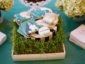 Golf Scotch Bar Wedding Desserts