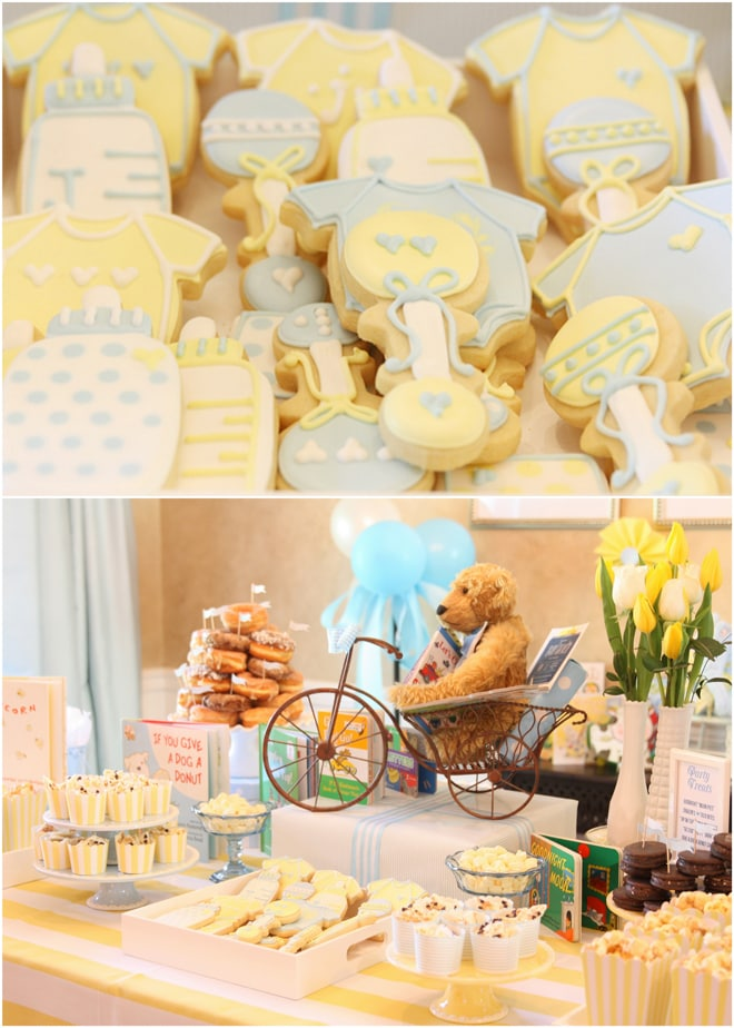 Baby Shower Book Themed Details!