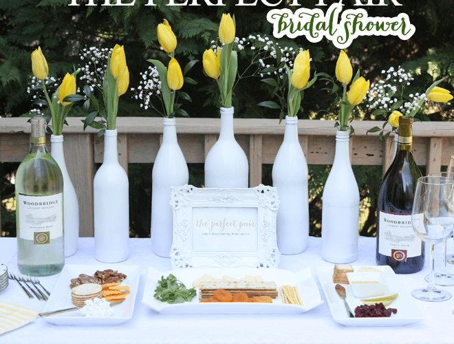 """The Perfect Pair"" Wine and Cheese Bridal Shower!"