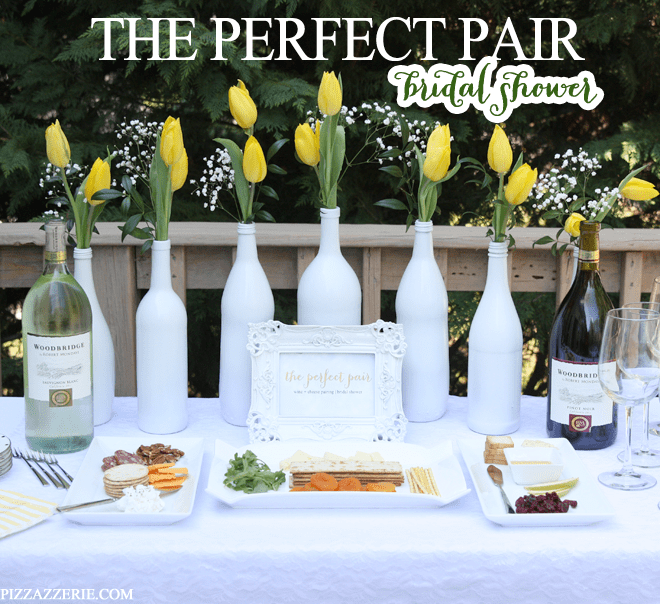 """""""The Perfect Pair"""" Wine and Cheese Bridal Shower!"""