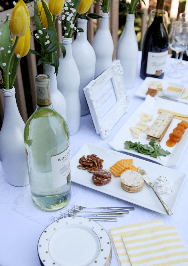 Wine and Cheese Bridal Shower