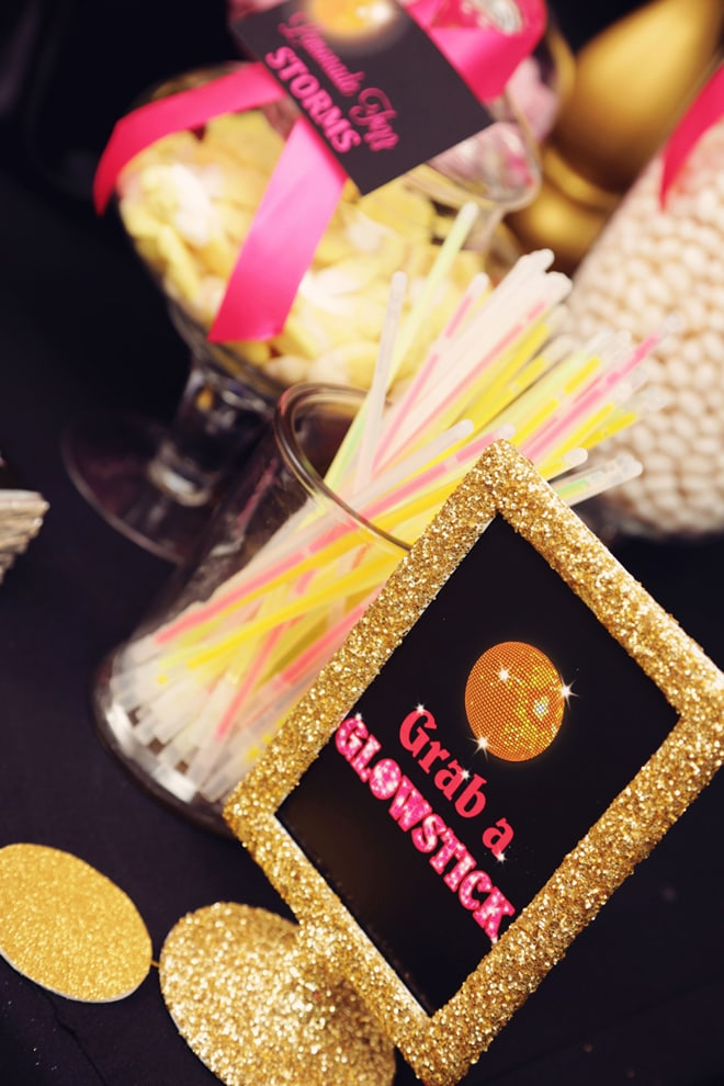 Cute Glam Disco Party Ideas!