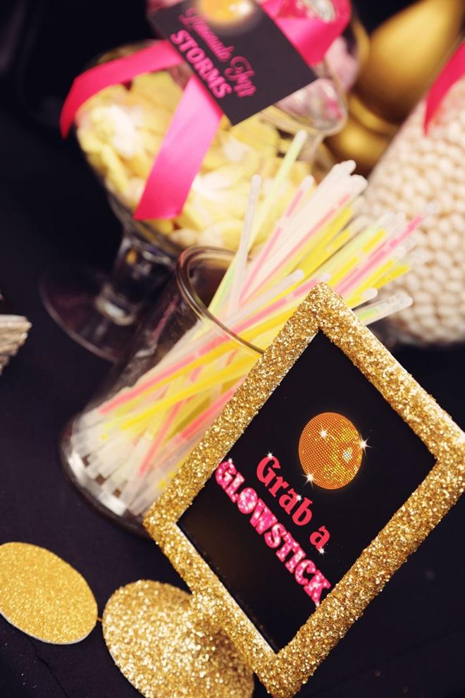 Cute Glam Disco Party Ideas!