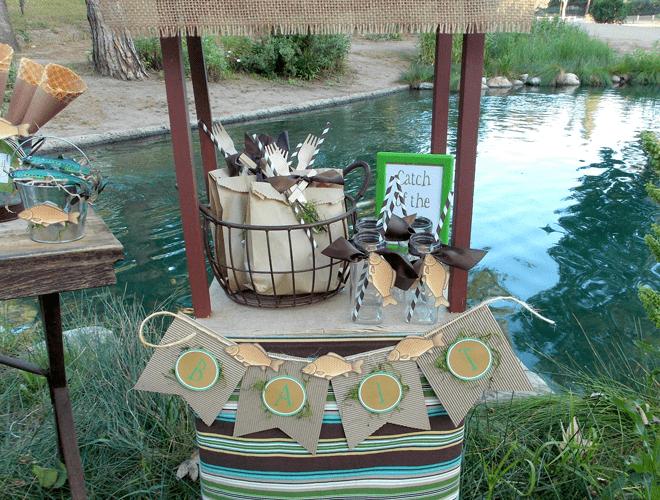 Cutest Gone Fishin' Party!