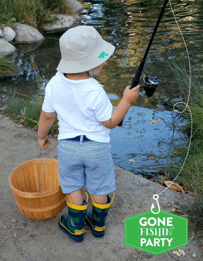 ADORABLE Gone Fishin' Birthday Party Pictures + Inspiration!