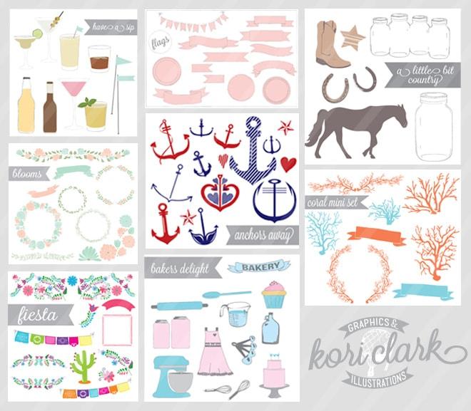 Graphics for Bloggers, Designers, etc!