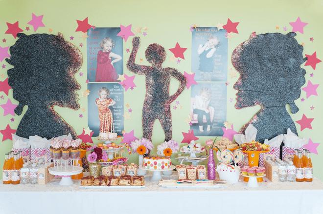 ADORABLE Mini Mogul Party Invitations + Inspiration!