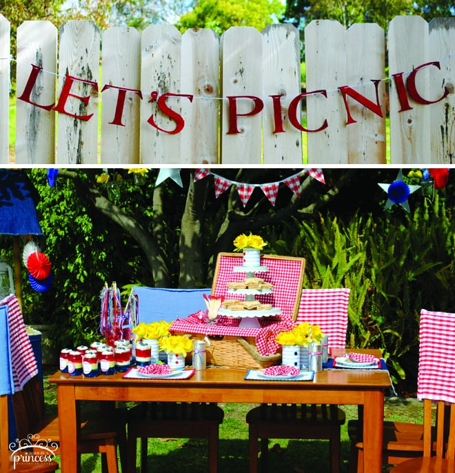 Cute Patriotic Picnic Party Pictures + Inspiration