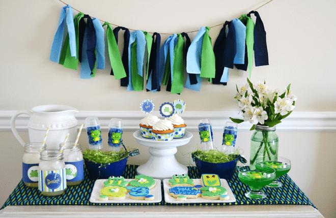 Adorable Preppy Frog Party
