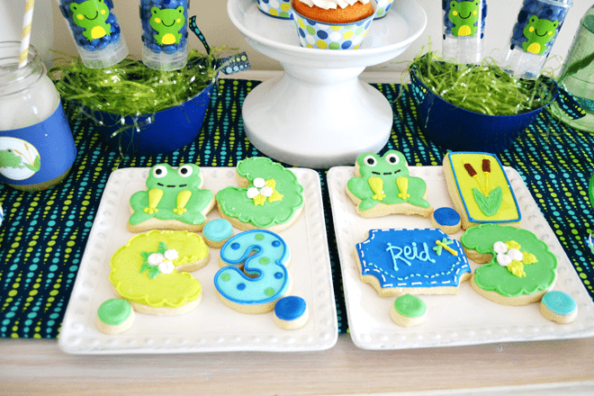 Adorable Preppy Frog Party Pictures + Inspiration!