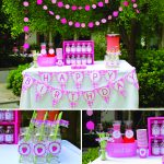 Sweet Pink + Lime Strawberry Birthday Party!