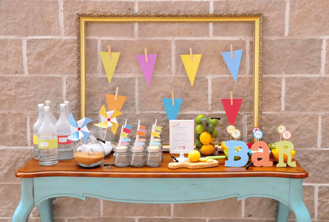 Colorful Summer BBQ Party Inspiration + Photos!